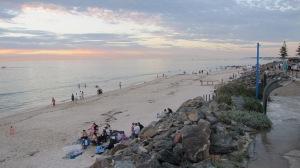 beach sunset nye 2013