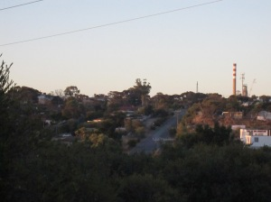 port stanvac chimney across the suburbs