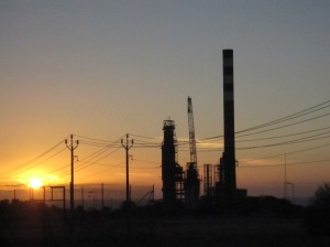 sunset over port stanvac 2