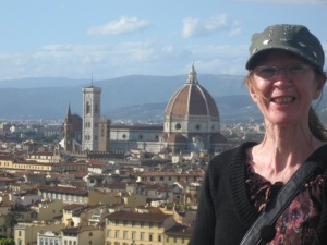 Mandy in Florence