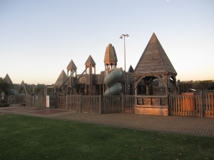 Port Noarlunga Playground, where the mosaic table is located