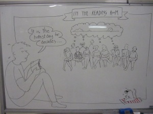Fables whiteboard illustration