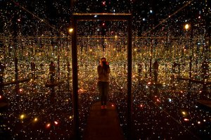 yayoi kusama fireflies