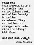 change poem