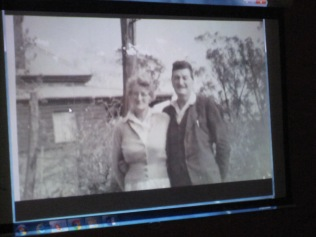 Part of Kath's story - a picture of her mum and dad