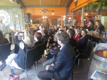 Some of the crowd at the launch