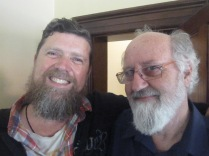 Richard and Ian (best beards at the party, with all due respect to David!)
