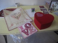 More hearts (including Mandy's red box