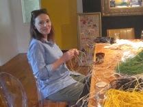Helen in action