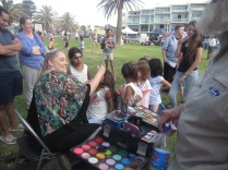 Facepainter in action