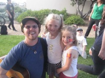Forte and his nieces