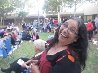 Rosina looking very happy