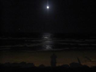Moon, venus and my shadow
