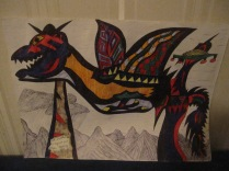 """Dragon resting"""