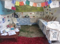 The stall looking lovely