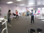Some of the Zumba folk in action