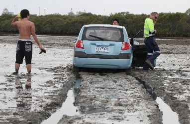 Bogged car 1