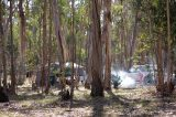 Campsite at Chookarloo in Kuitpo
