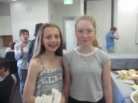 Niamh on the right and her friend