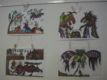 More of Mark's art (note two dragons playing chess)