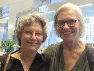 Kaye and Liz on opening night