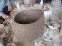 Kat's textured pot