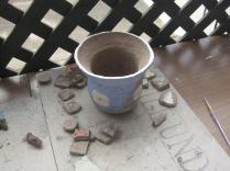 Lucas's pot and tiles