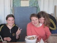 Vienna, Katrin and Chiara