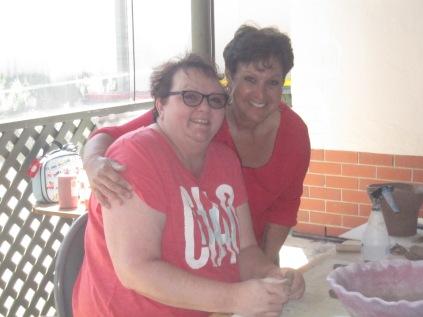 Sue and Connie