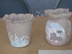 Chiara and Vienna's pots