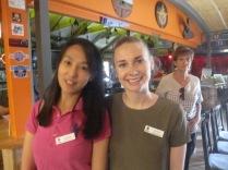 Jingqian and Zoe (students extraordinaire)
