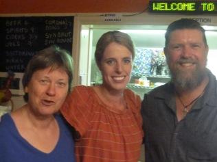 EB, Sarah and Richard