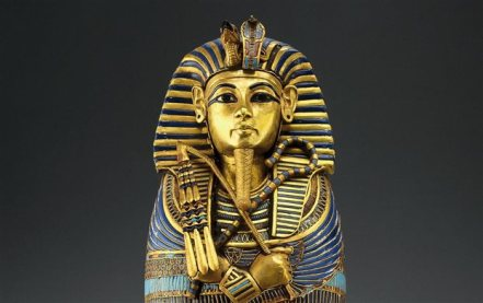 Tutankhamen's image from the tomb