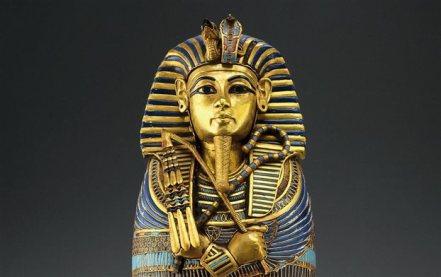 Tutankhamen's image from the tomb