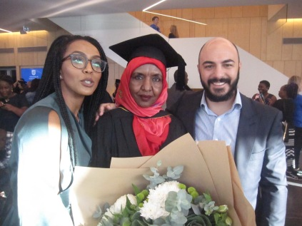 Rania, Arefa and Dom