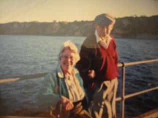 Mum and dad in 2005