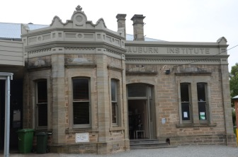 Side view of the Institute