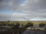 Rainbow over the town (1)