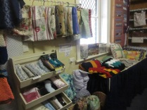Peg bags and footy rugs, cushions and patchwork gear