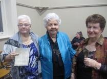 Colleen, Josephine and Janet