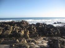 Rocks at the beach