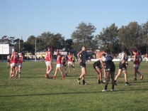 Mid-play, last quarter, Port v North