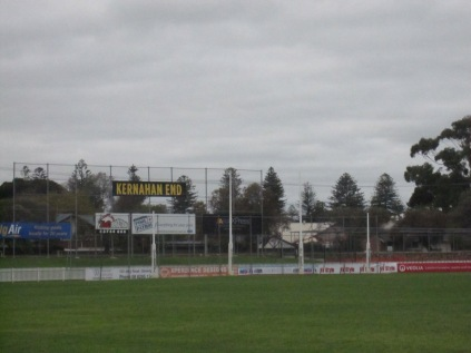 Glenelg Oval - honouring good players (Kernahan End)