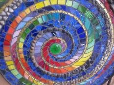 Close up of mosaic