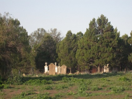 Cemetery from the road