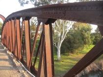 Through the bridge - west
