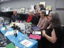 Some folk from table 13 - Laurie, Lesley, Maggie and Jenny