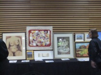 Some of the art on auction