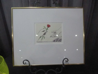 One of Bill Kelly's prints for auction