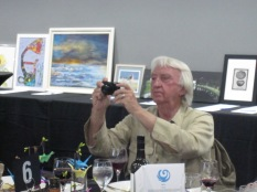 Bill Kelly being photographed by me as he took a photograph